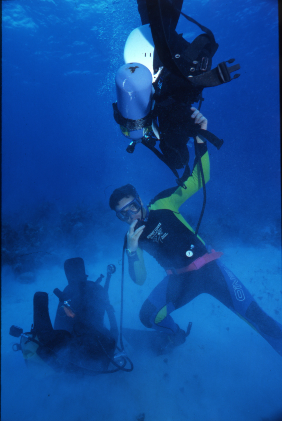 Bahamian rebreather rescue