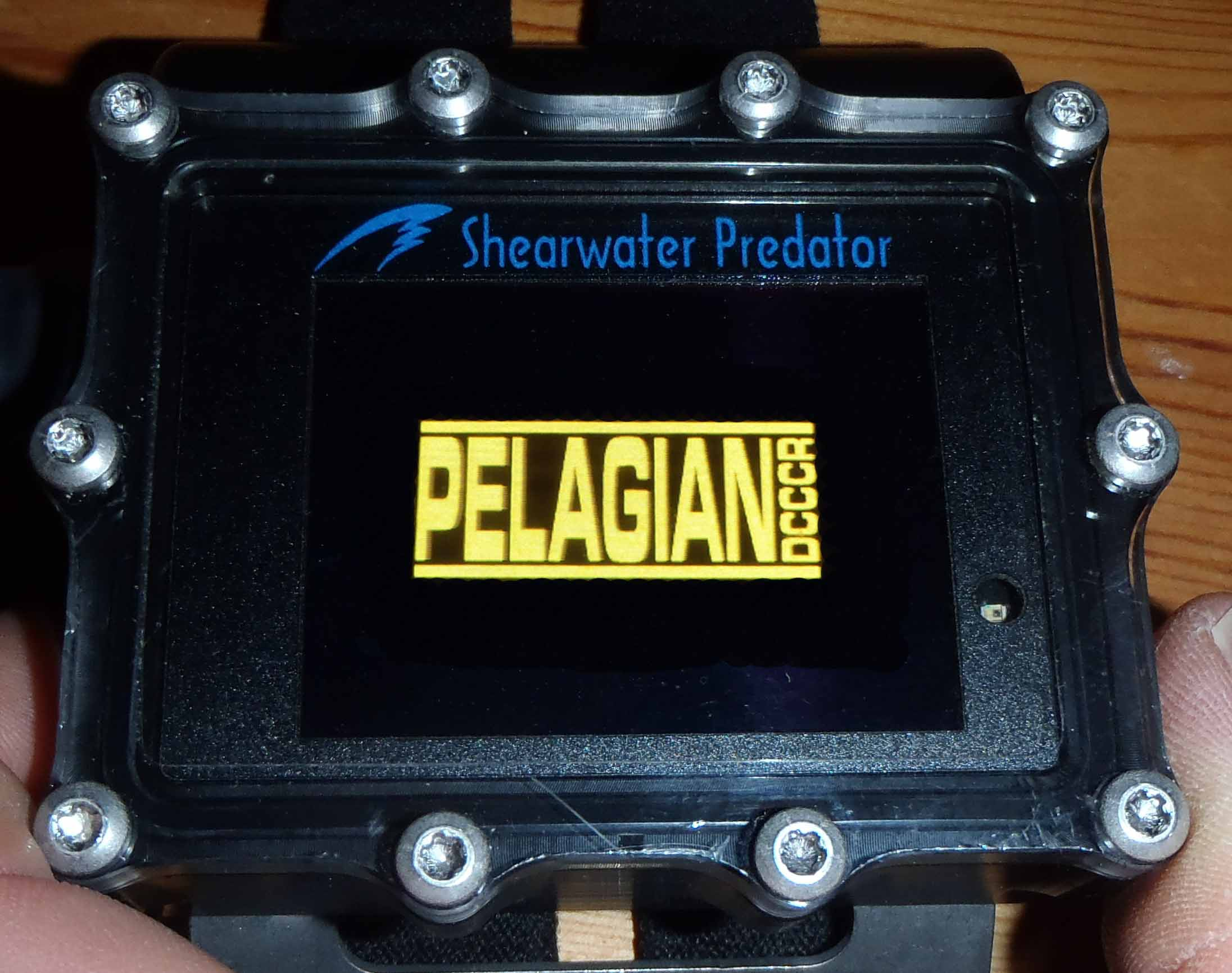 Optional Shearwater Predator Computer